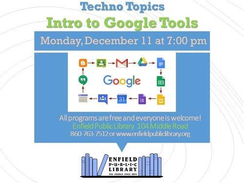 Techno Topics Enfield Library