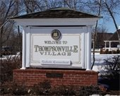Thompsonville Village Sign