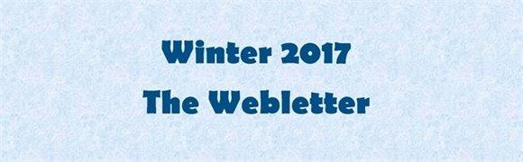 Winter 2017 The Webletter