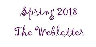 Spring 2018 The Webletter