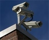 Picture of new police surveillance camera