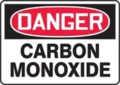 image of danger carbon monoxide sign