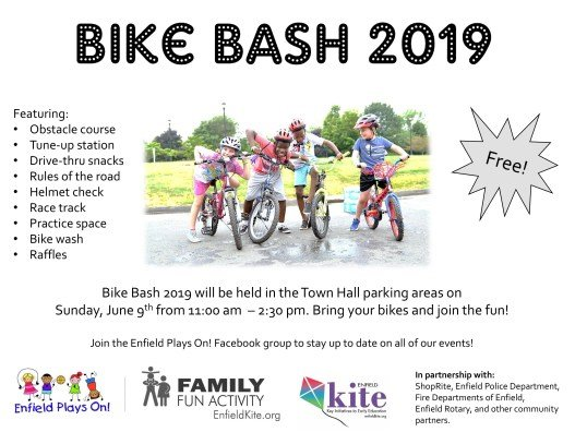 picture of Enfield Bike Bash flyer