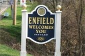 picture of Town of Enfield sign