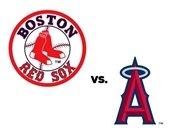 Red Sox vs. Angels Emblems