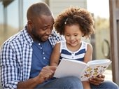 picture of parent and child reading