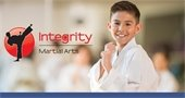 child from Integrity Martial Arts