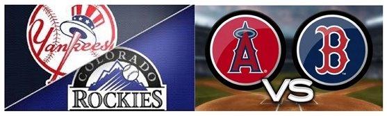 Picture of baseball logos