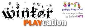 Logo of Winter Playcation sponsored by Enfield KITE