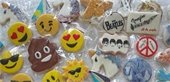 Picture of emoji cookies