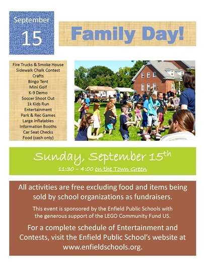 image of Family Day Flyer