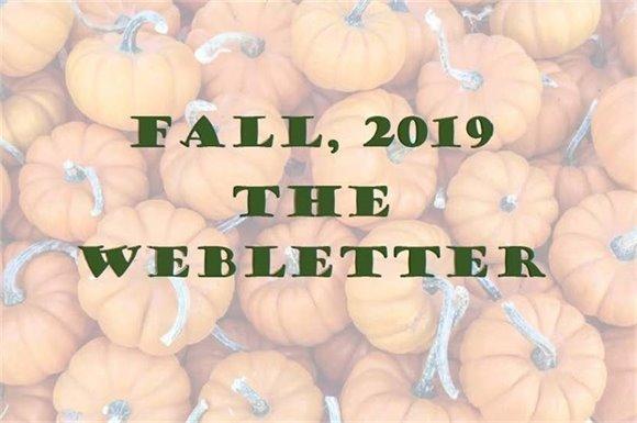 Fall, 2019 The Webletter
