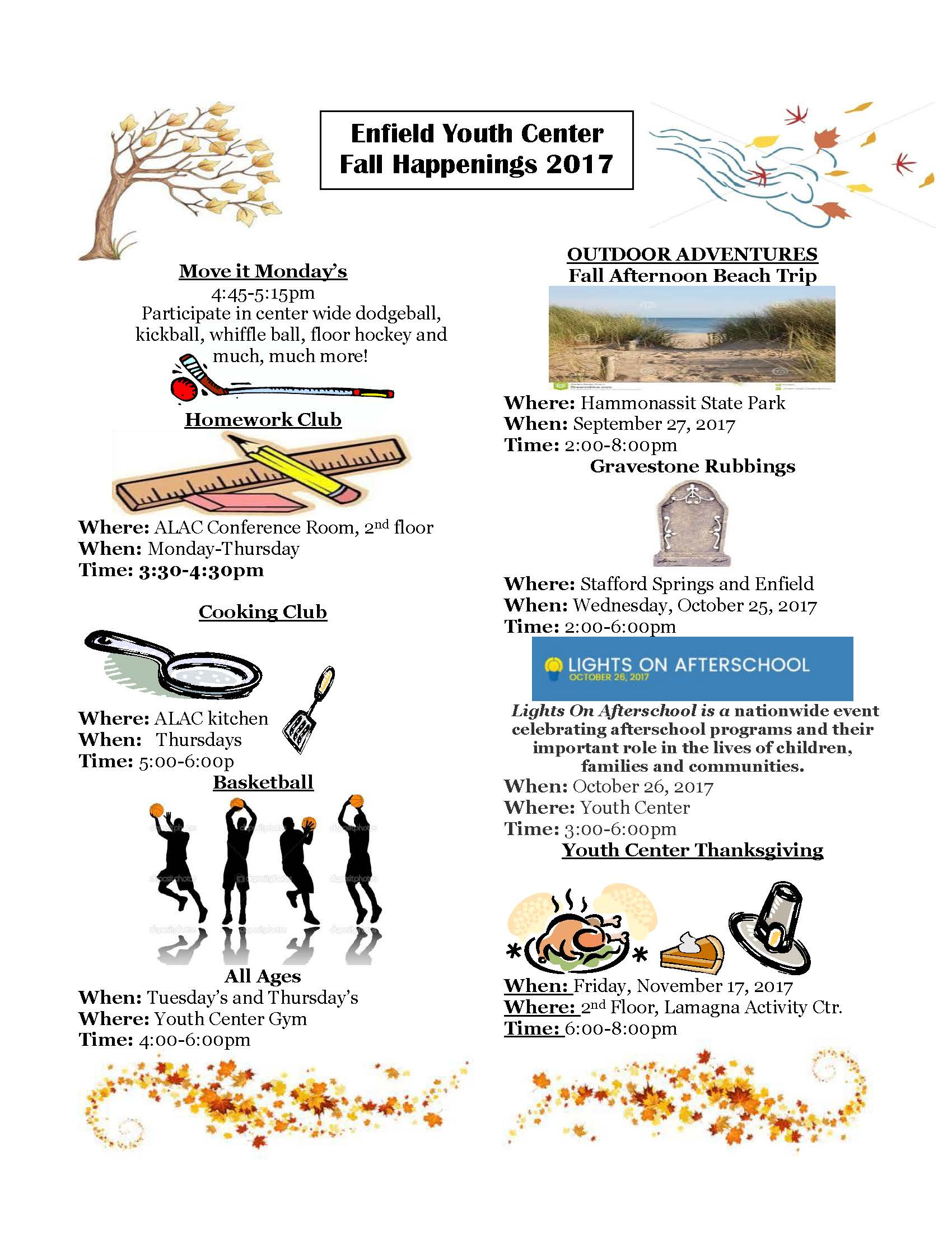 Fall Newsletter 2017 Pg 1