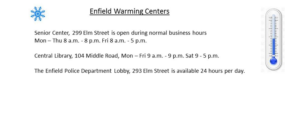 Warming Centers 2018