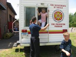 Children participate in an activity provided by the Juvenile Fire-Setter Intervention Program