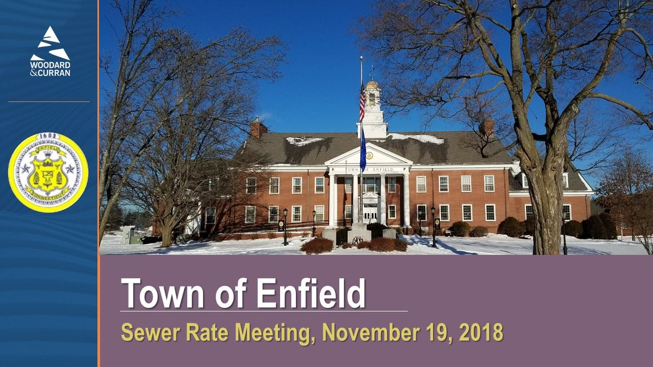 sewer rate meeting, november 19,2018