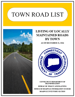 Locally maintained roads