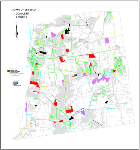 Town Of Enfield Ct >> Complete Streets Policy Mapping Enfield Ct Official