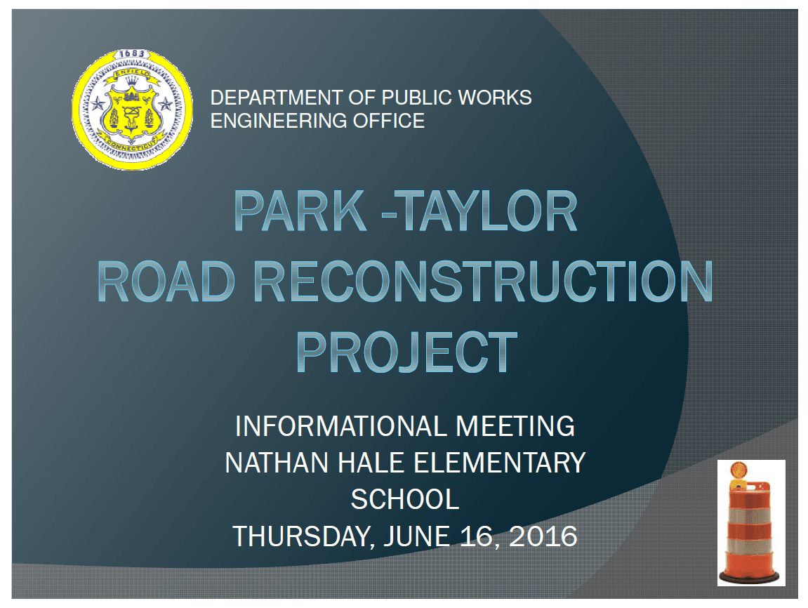 Park Taylor Info Meeting Presentation