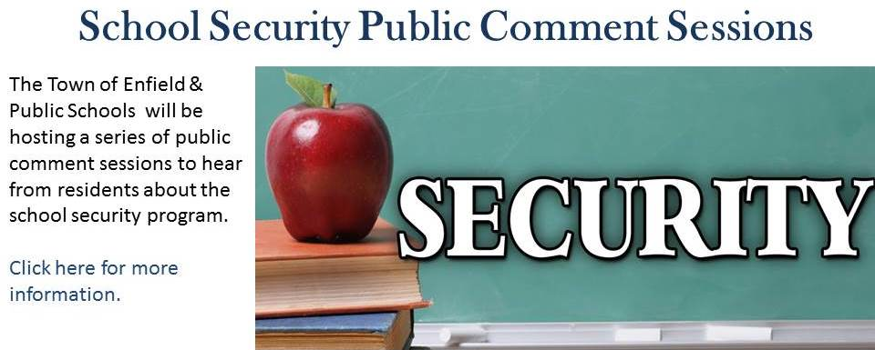 School Security Public Sessions