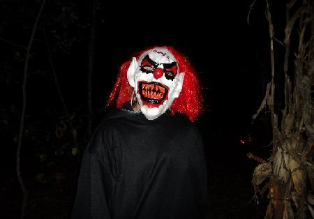 The scary clown rumored to haunt the trail