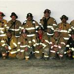 Group picture of the firefighters involved in the drill