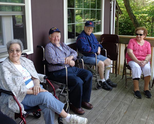 Seniors on the Deck