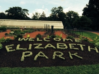Elizabeth Park Rose Sign